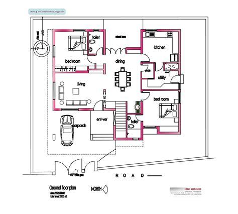 home floor plans 2800 square feet image detail for modern house plan 2800 sq ft kerala