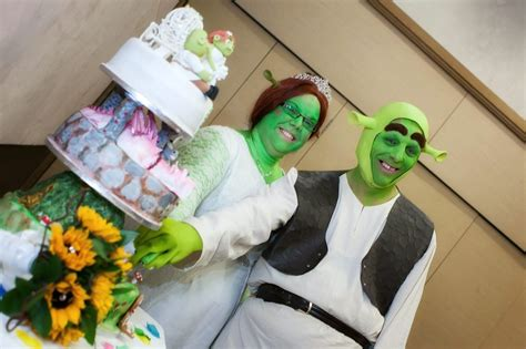 shrek style our fairytale wedding easy weddings blogeasy weddings