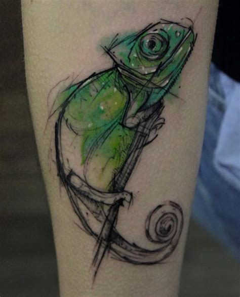 chameleon tattoos designs ideas and meaning tattoos for you