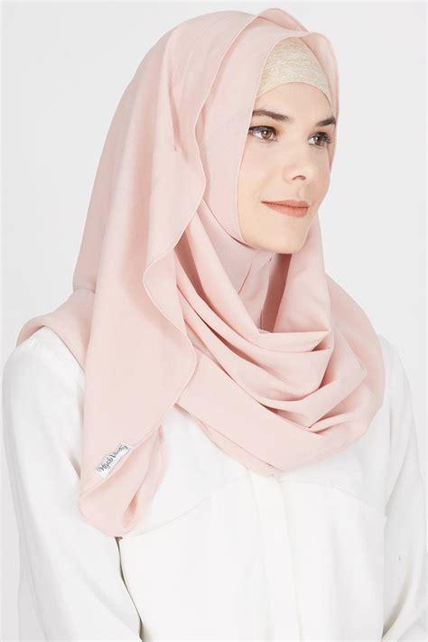 Jilbab Instant Rayya Fuchsia sell camilla instant shawl pink instant hijabenka