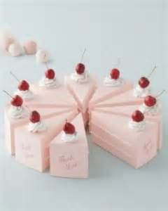Boxed Wedding Favors by Wedding Favor Ideas Cake Shaped Wedding Favor