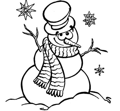 pics to color snowman pics to color 2697875