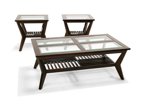 Coffee And End Tables Sets 3 Pc Coffee And End Table Set Occasional Tables