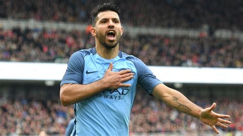 revealed the sergio aguero record that bodes well for