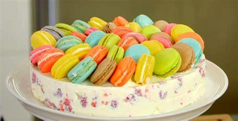 james martin raspberry  lemon  macaroon cake recipe