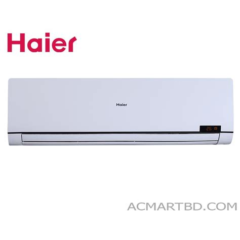 Ac Haier haier 1 ton inverter and wifi hsu 12hna air conditioner
