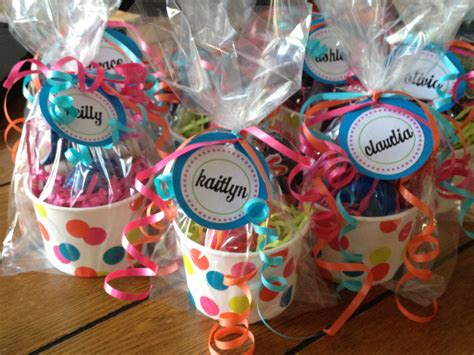 Event Giveaways Ideas - tween party favors aimee pinterest