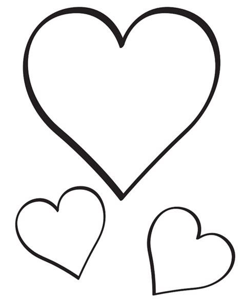 imagenes de corazones unidos para colorear molde de cora 231 227 o para imprimir recortar artesanato