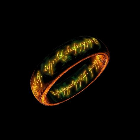 the one ring gif lord of the rings fan 24662850