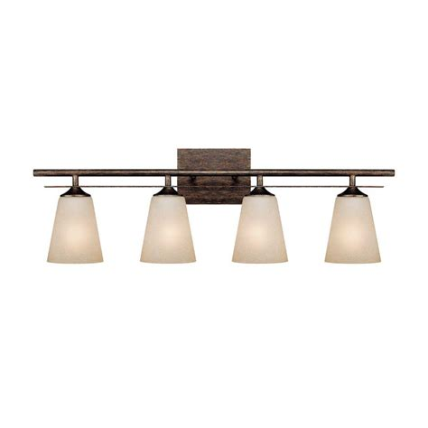 rustic bathroom light fixtures filament design 3 light rustic vanity light with mist