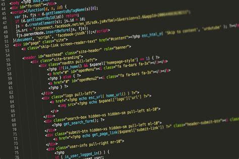 html background image code code html background free stock photo negativespace