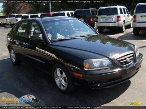 2004 Hyundai Elantra Gt by 2004 Hyundai Elantra Gt Hatchback Black Obsidian