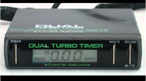 blitz dual turbo timer wiring diagram 37 wiring diagram