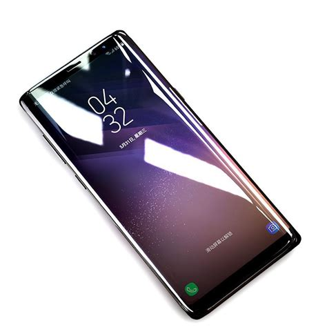 bakeey 4d curved edge tempered glass for samsung galaxy note 8 sale banggood