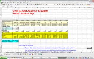 free cost benefit analysis template excel cost benefit analysis template free and