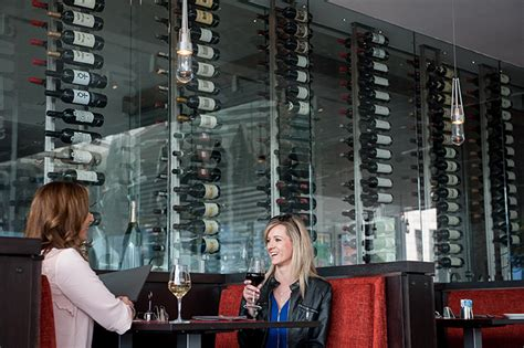 The Rack Room Denver by Commercial Wine Room Project Restaurant At The