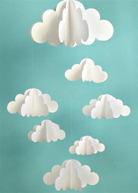 cloud mobile best 25 cloud mobile ideas on baby mobiles