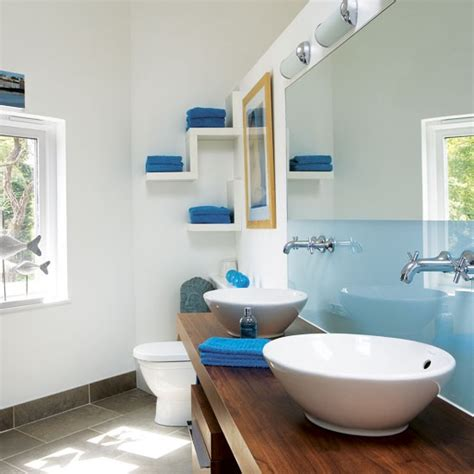 blue bathroom bathrooms design ideas image housetohome co uk