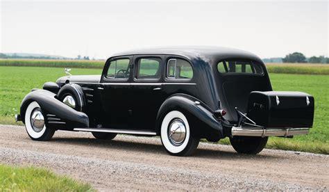 cadillac limousines 1937 cadillac v16 fleetwood limousine