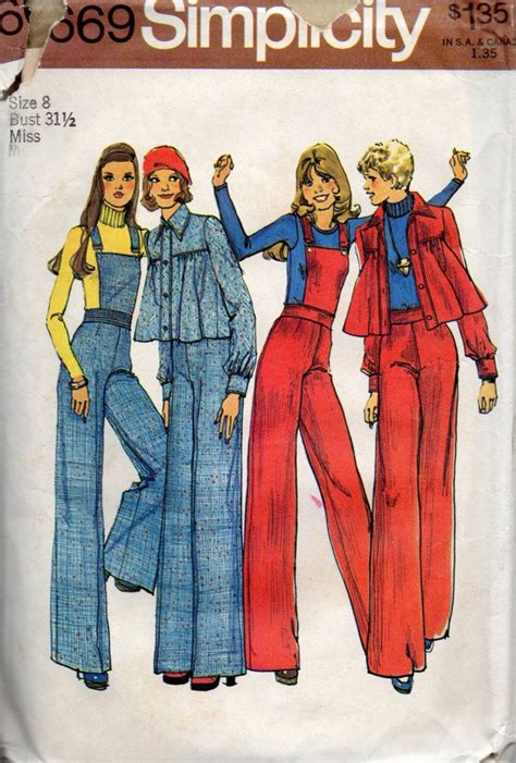 vintage overall pattern 1000 images about fashions 1970 s on pinterest sewing