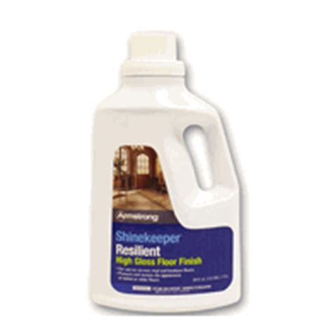 Armstrong Shinekeeper Floor Finish by Armstrong Shinekeeper Resilient Floor Finish 64oz S
