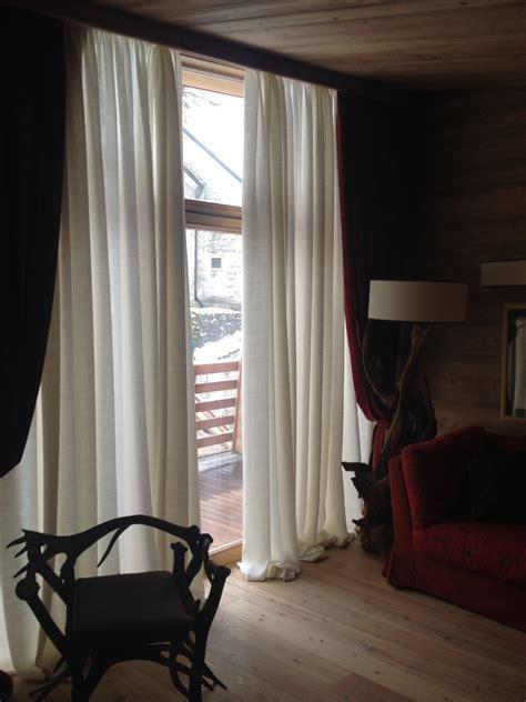 tende lino grezzo tende e tendaggi casa tendaggio morsia
