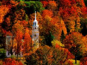 fall colors in vermont most beautiful towns small cities of the us post pictures