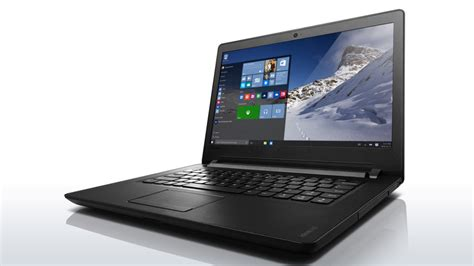 Lenovo Ideapad 110 14ibr 14 Inch Laptop Non Windows Black lenovo ideapad 100 affordable laptop 14 inch review gse