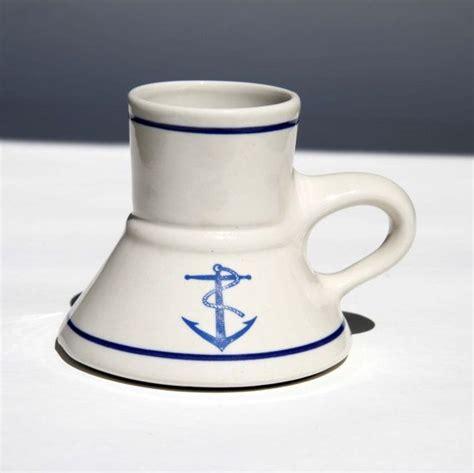 Pirate Coffe captain pirate no spill travel mug wide base narrow top