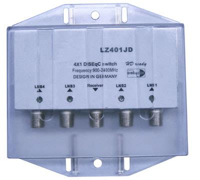 Diseqc Switch 4 In 1 china 4 in 1 water proof diseqc switch lz401j china