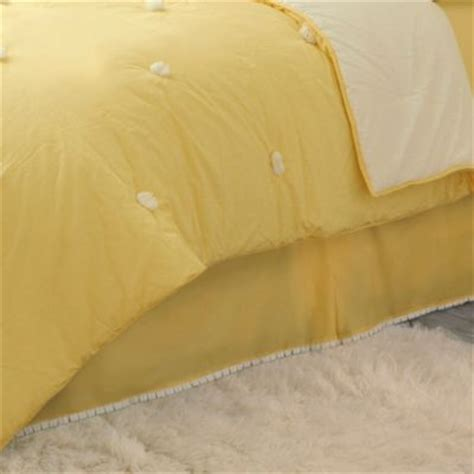 yellow bed skirt buy yellow bed skirt from bed bath beyond
