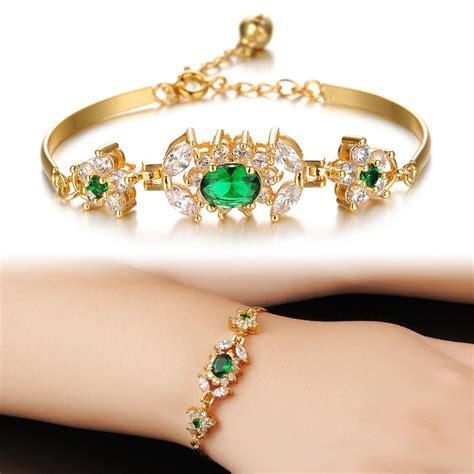 Ever Best Gold Bracelets Design for Ladies   Womenitems.Com