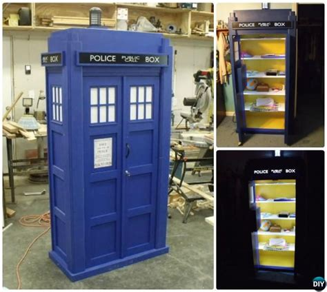 25 best ideas about tardis bookshelf on