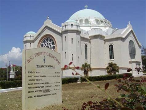 kingston, jamaica | i only visited this catholic church on