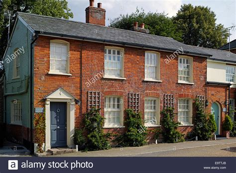 buy bricks for houses terraced red brick houses in cavendish suffolk england stock photo royalty free image