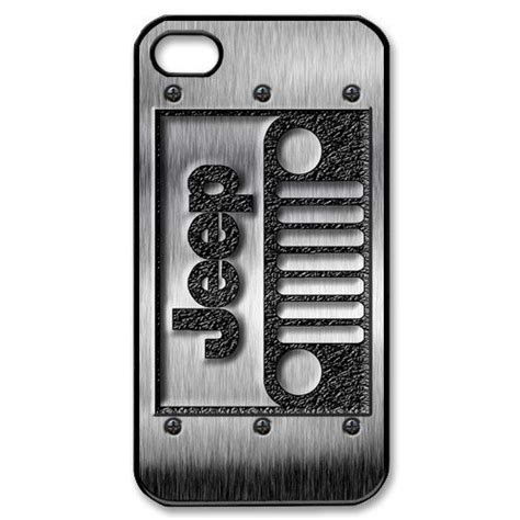 apple iphone cool classic jeep wrangler logo with steel iphone 4 4s or 5 black