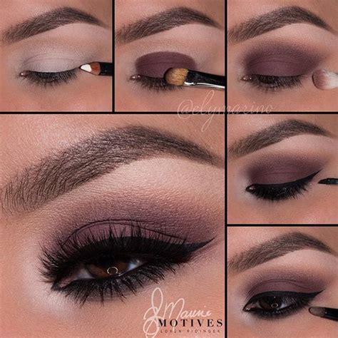 tutorial makeup natural bergambar fashionble natural eye makeup tutorials for work styles