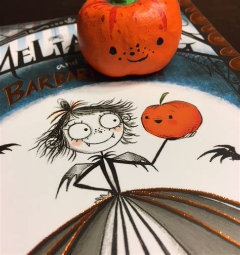 amelia fang and the amelia fang and the barbaric ball diy squashy pumpkin craft ink stitches