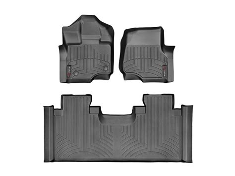 Fitted Floor Mats by Weathertech 3 Digital Fit Floor Liners Mats Black