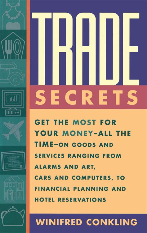 secets of the trade books trade secrets book by winifred conkling official