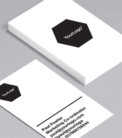 browse business cards template gallery busines card design show