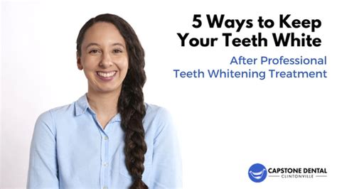 Finding Ways To Keep Up With Professionals by 5 Ways To Keep Your Teeth White After Professional Teeth