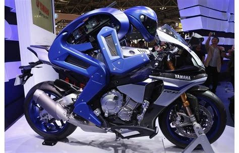 Motorrad I Robot by This Robot Can Ride A Motorcycle Autonomously