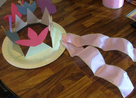 How To Make A Paper Easter Bonnet - how to make a easter bonnet hat or flower crown