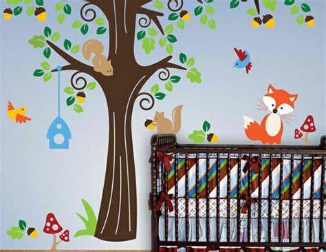 Kinderzimmer Gestalten Waldtiere by Babyzimmer Wandgestaltung 15 Wanddeko Ideen Mit Tieren