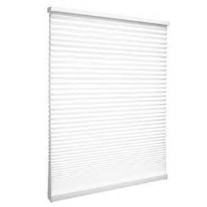 home depot cellular shades designview cordless cellular shade snow drift 32 inch x