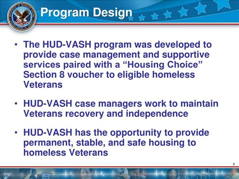 Hud Section 8 Voucher by Ppt Hud Vash The Va Perspective Powerpoint Presentation