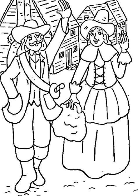 thanksgiving coloring pages printables pilgrims kids printable pilgrim coloring pages for thanksgiving