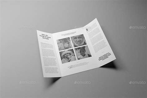 single fold brochure template a4 a5 single gate fold brochure mockups by wutip