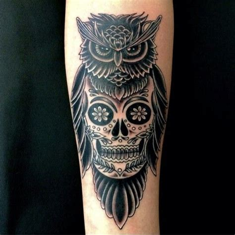 tattoo owl with skull meaning owl skull tattoos designs ideas and meaning tattoos for you